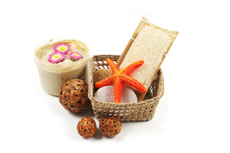 Download Spa And Beauty Products. Royalty Free Stock Photos - Image: 4120908