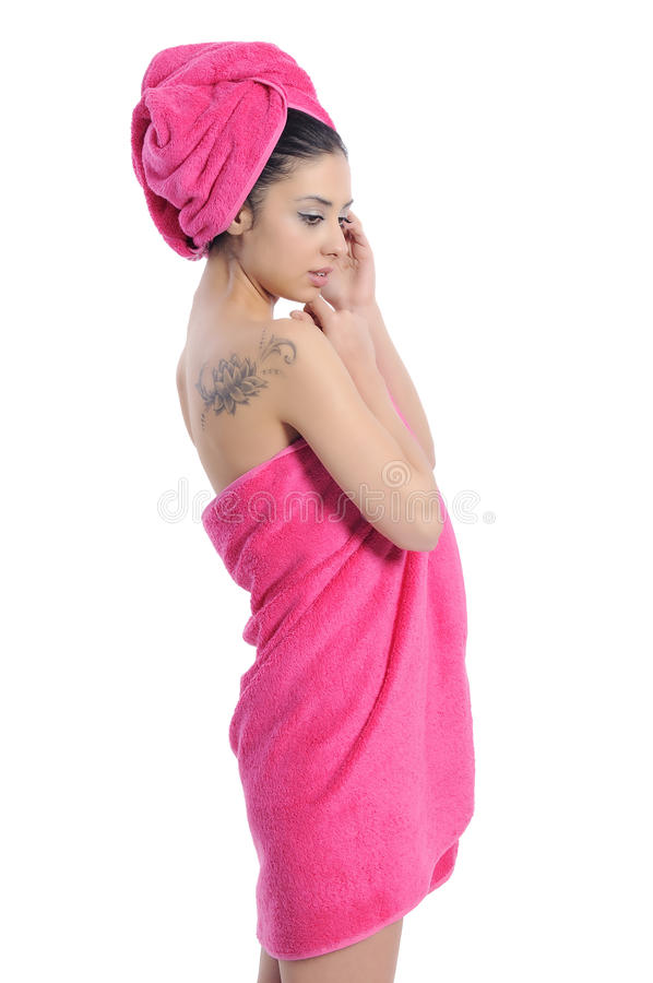 Download Spa beauty treatment woman stock photo. Image of model - 28665086