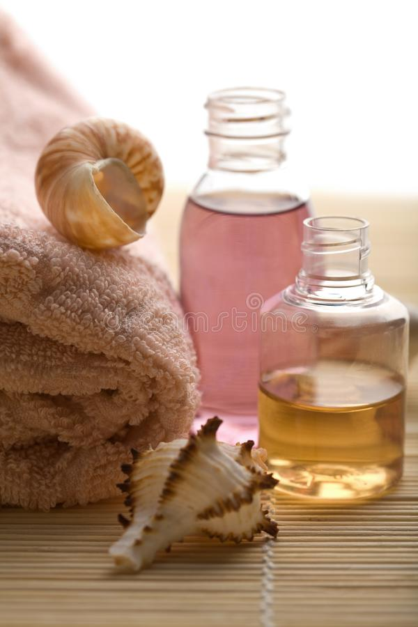Spa and body care background royalty free stock images