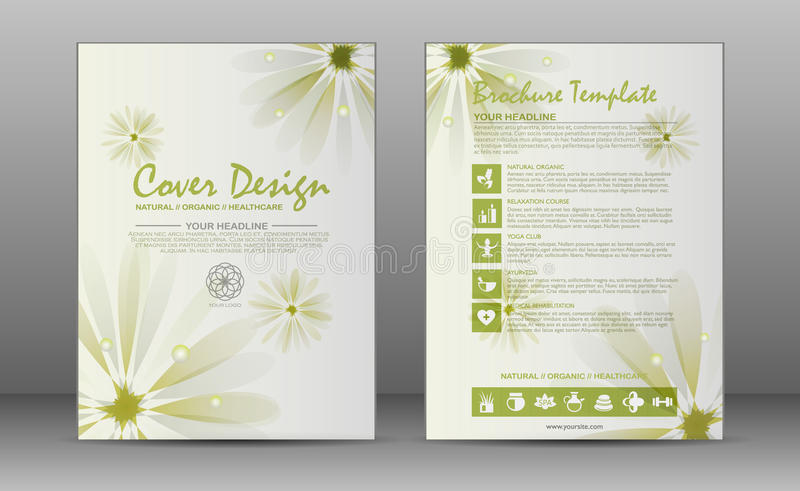 Spa Brochure Template Stock Illustration Illustration Of Medical