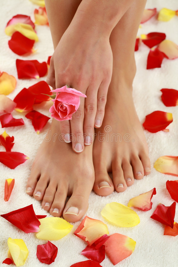 Download In spa center stock image. Image of barefoot, healthcare - 6517053
