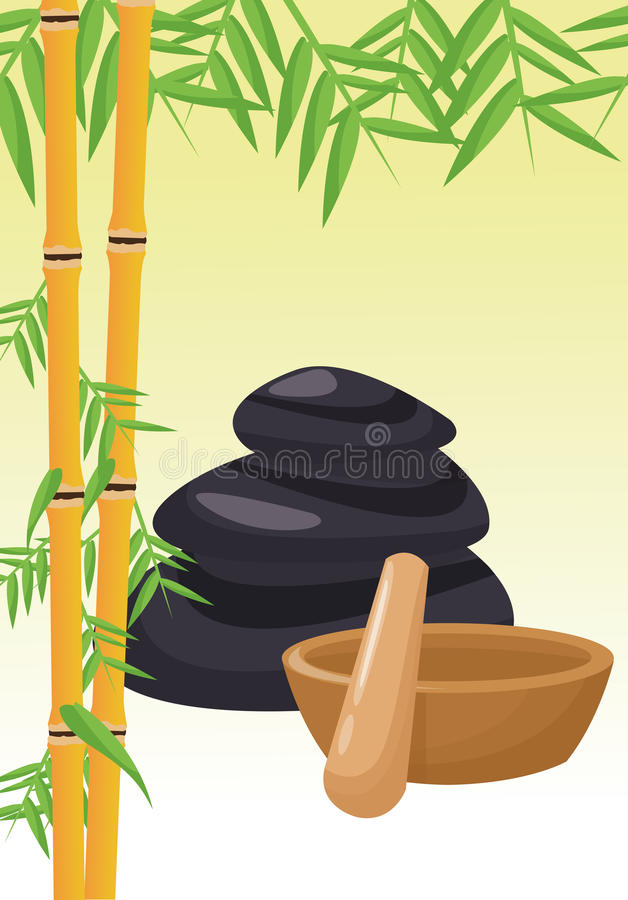 Spa center and healthy lifestyle design vector illustration