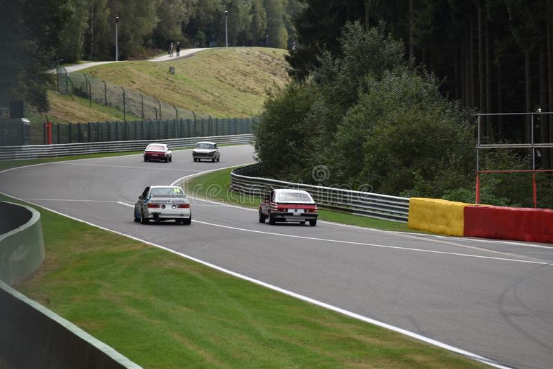 Spa Classic Racers royalty free stock image