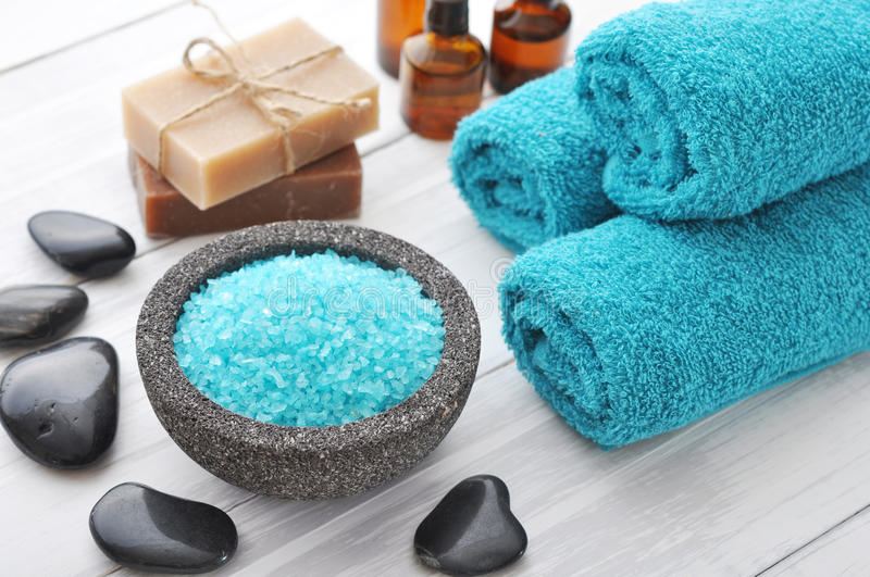 Download Spa composition stock image. Image of blue, moisture - 38876877