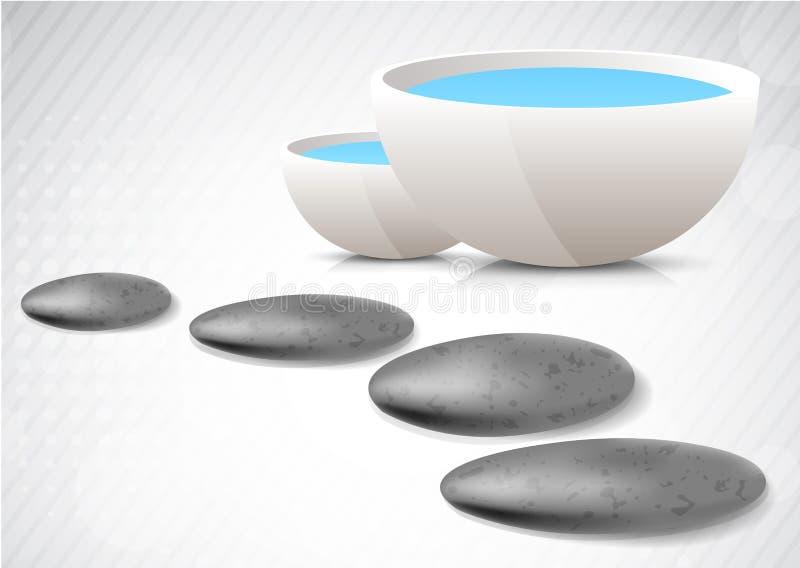 Spa concept stock illustration
