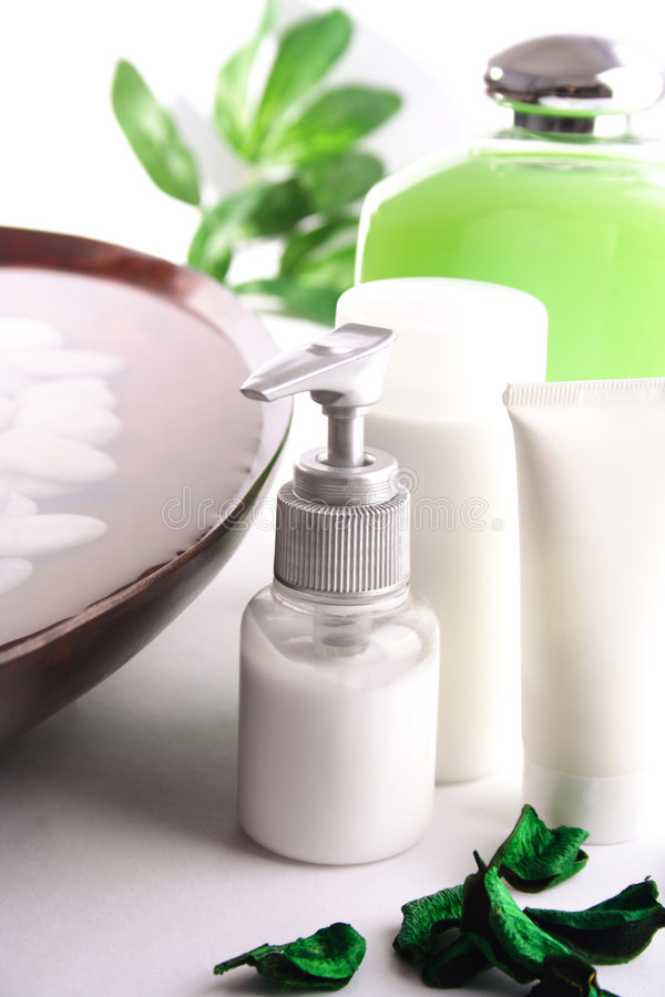 SPA cosmetics series royalty free stock photography