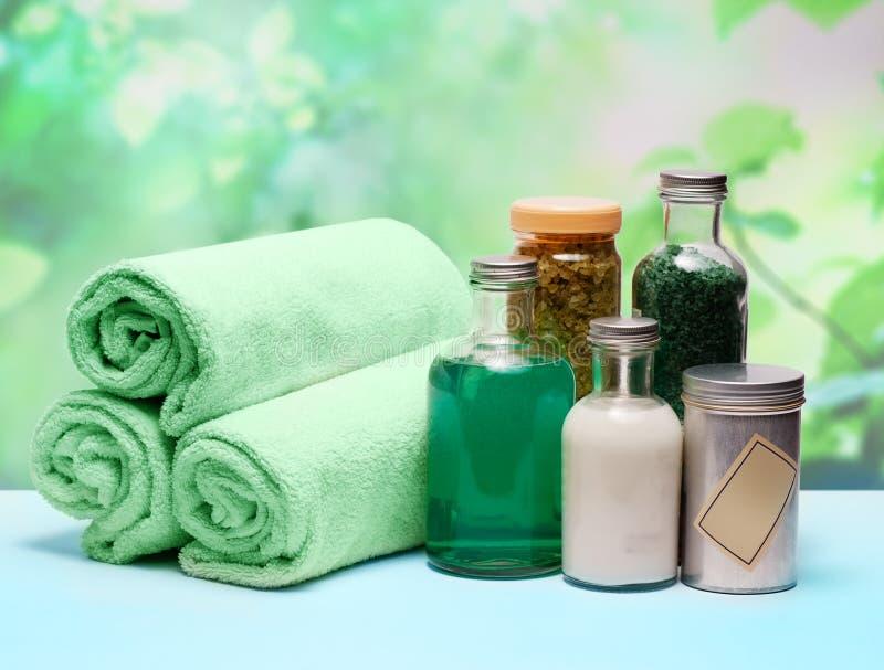 SPA cosmetics series. royalty free stock image