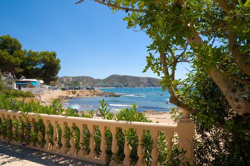 Spa of Costa Blanca. Spain stock photo