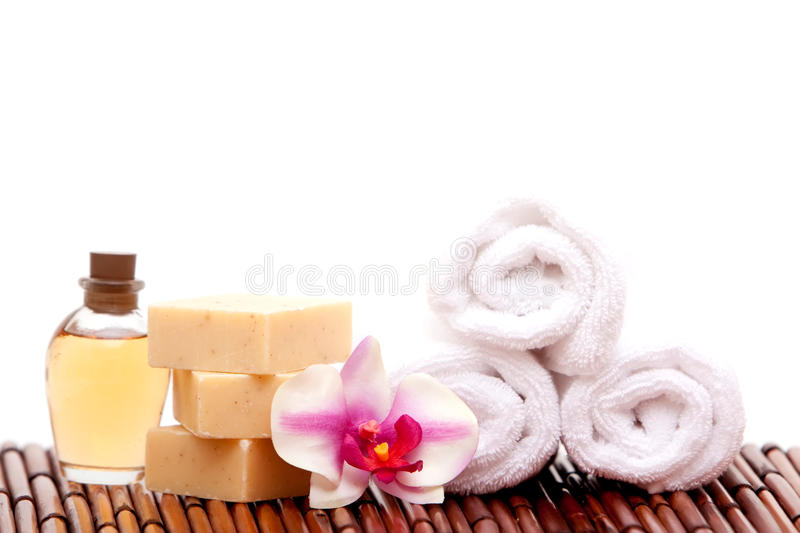 Download Spa decor stock image. Image of aromatherapy, orchid - 12143263