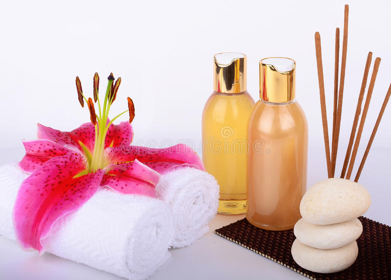 Spa Essential Elements stock image