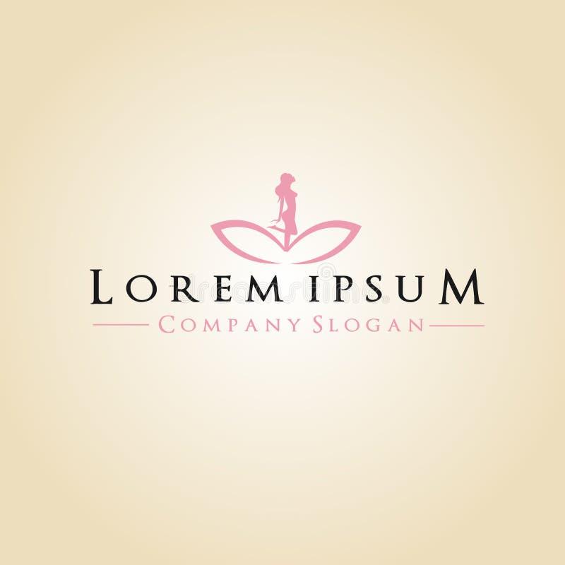 Spa et logo de Company illustration libre de droits