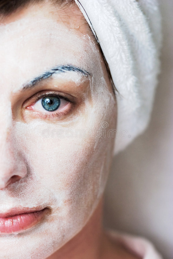 Download Spa Facial stock photo. Image of healthcare, eyebrows - 1328072