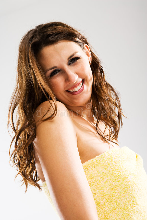 Download Spa fun stock image. Image of shoulder, beauty, smiling - 4343715