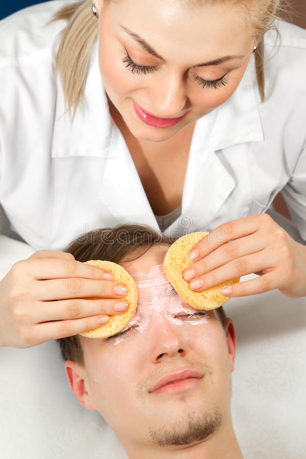 Download Facial mask stock image. Image of clinic, care, getting - 29865351