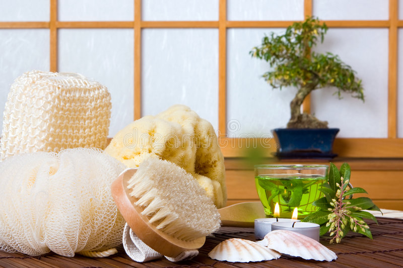 Download Spa and herbal tea stock image. Image of massage, products - 3698561