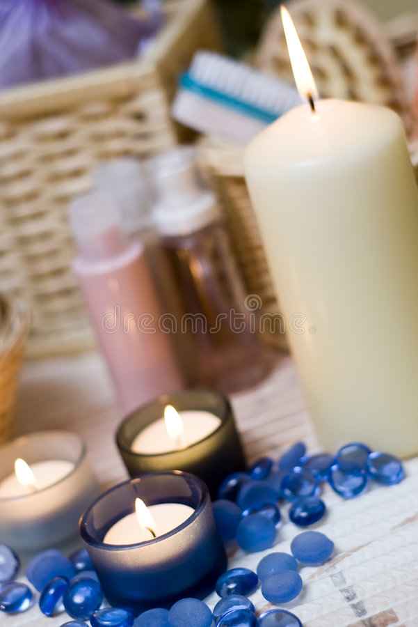 Download Spa items composition stock image. Image of bath, item - 4024303