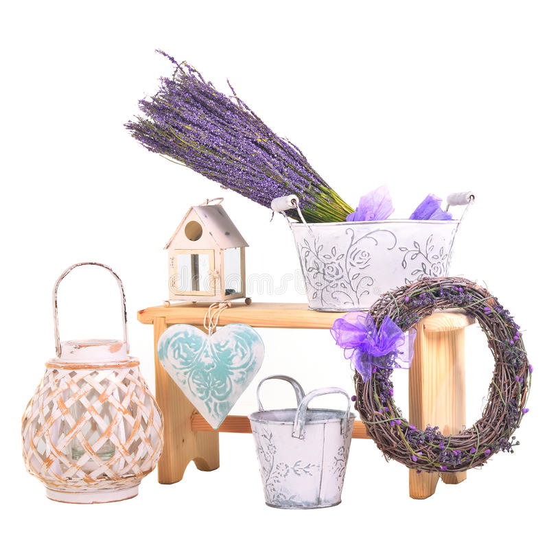 Spa items set stock images
