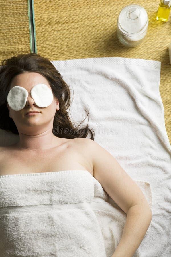 spa kobieta zdjęcia royalty free
