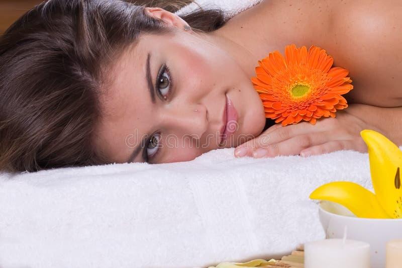 spa kobieta zdjęcie royalty free