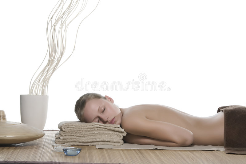 spa kobieta zdjęcie stock