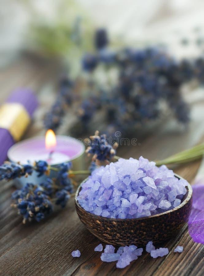 Spa.Lavender stock foto's