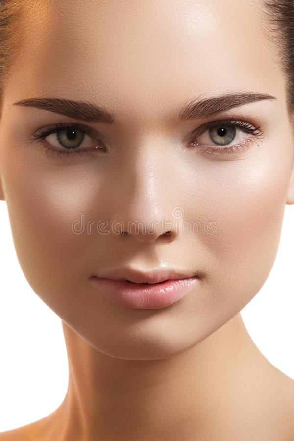 Download Spa Make-up, Wellness. Model Pure Face, Clean Skin Stock Image - Image: 22012163