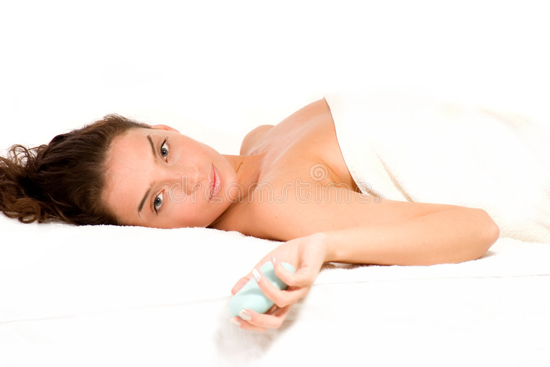spa masaż. obrazy stock