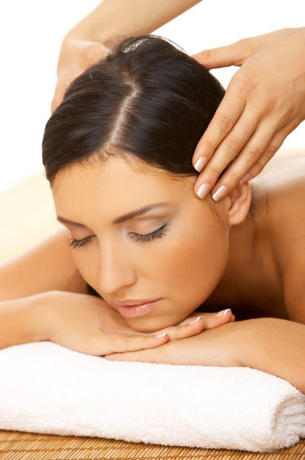 spa masaż. zdjęcie royalty free