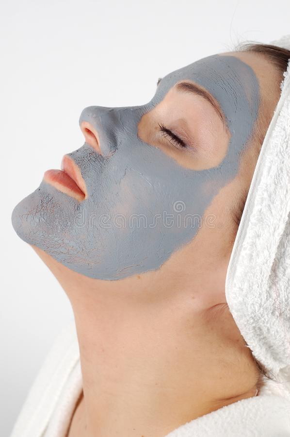 Spa mask #16 royalty free stock photo