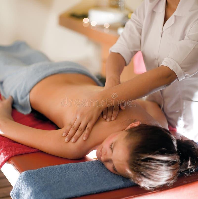Spa Massage Stock Photography