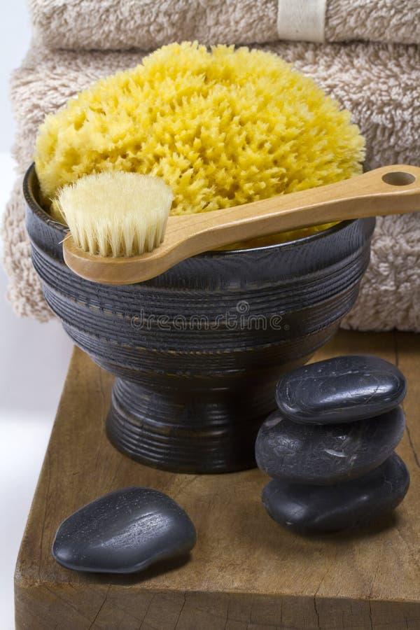 Spa massage. stock image