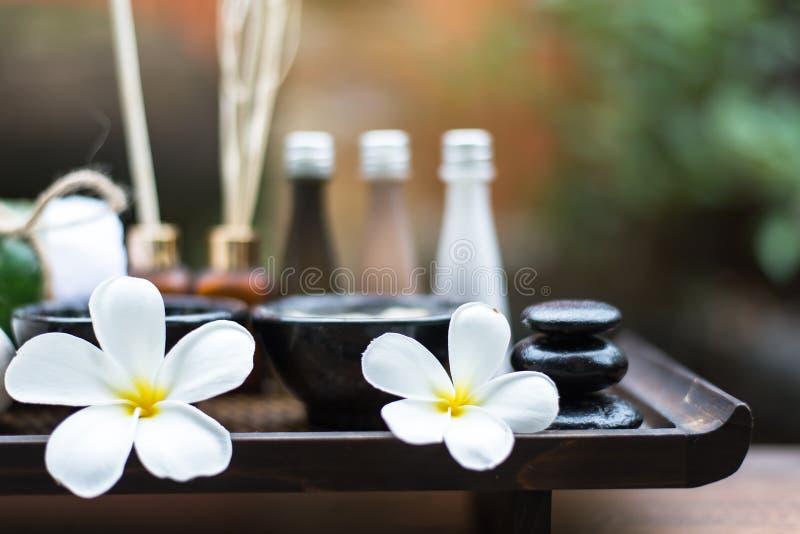 Spa massage compress balls stock photos
