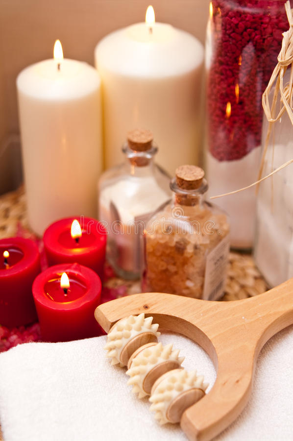 Spa And Massage Items Stock Photos