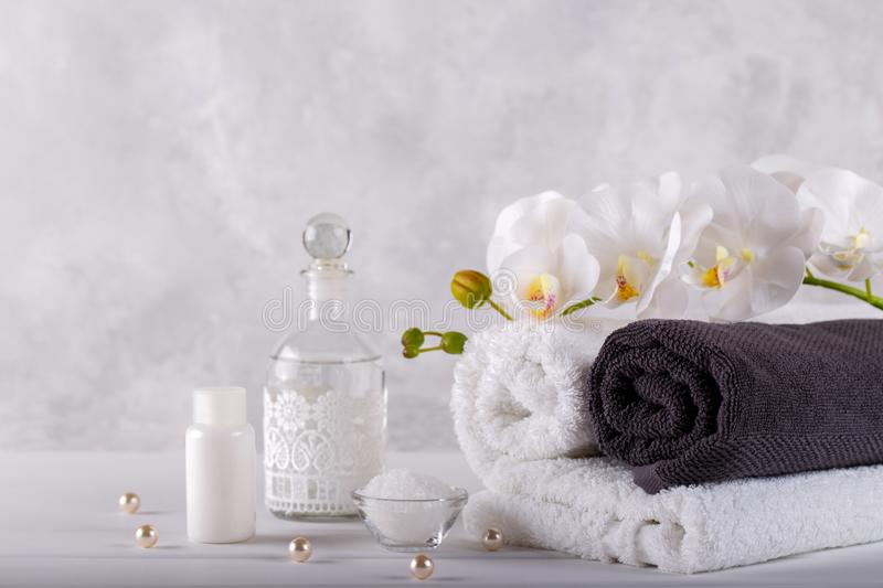 Spa massage and wellness stock image