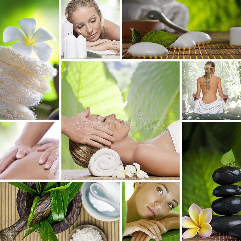 spa mix stock photography