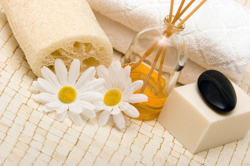 Spa objects royalty free stock photo
