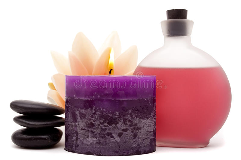 Download Spa objects for decor stock photo. Image of decor, oils - 14839164