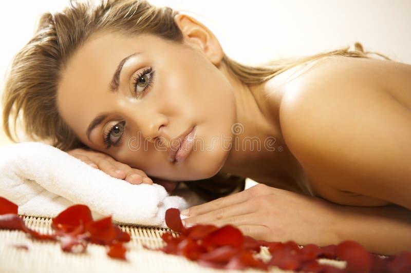 spa odprężona zdjęcia stock