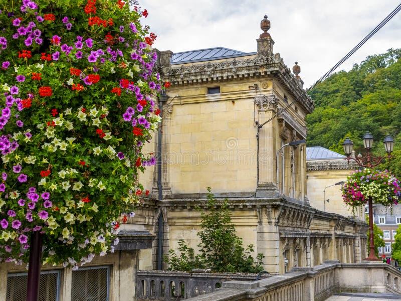 Spa, paisagem urbana da Bélgica imagens de stock royalty free
