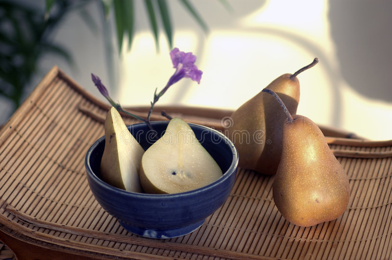 Spa Pears Royalty Free Stock Image