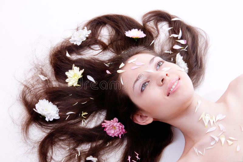 Spa portrait royalty free stock photography