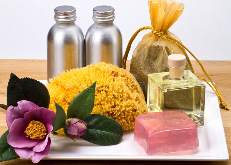 Spa products. royalty free stock images