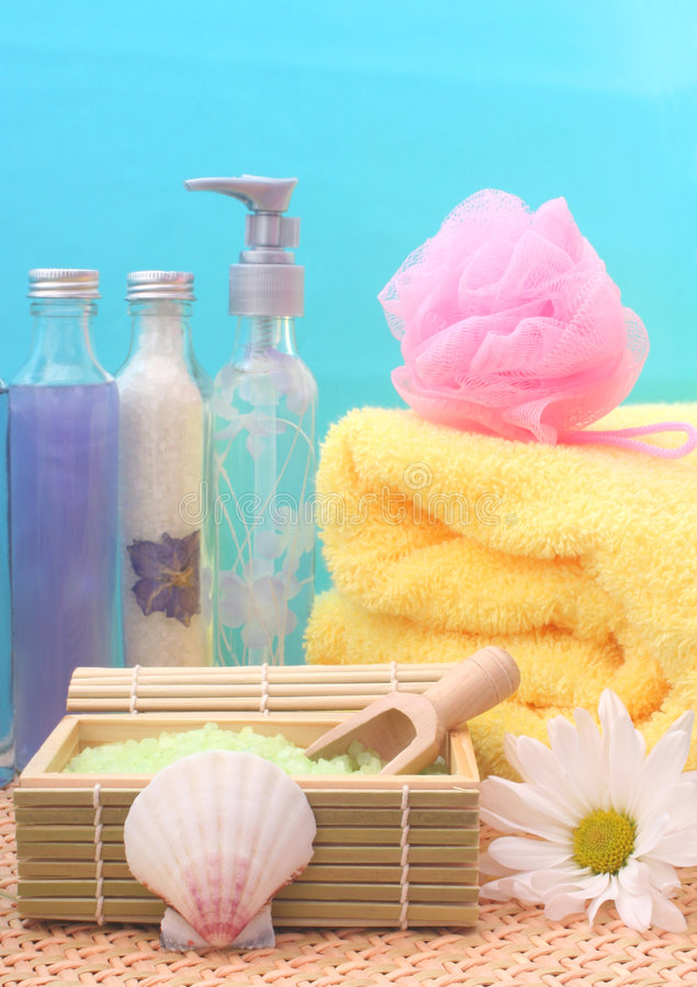 Free Spa Products Royalty Free Stock Photos - 2278998