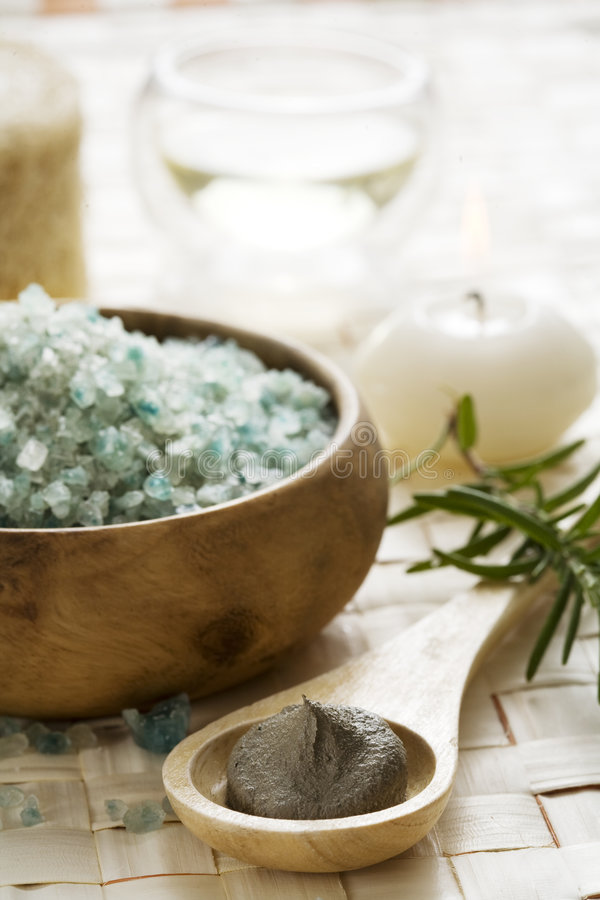 Spa products stock images