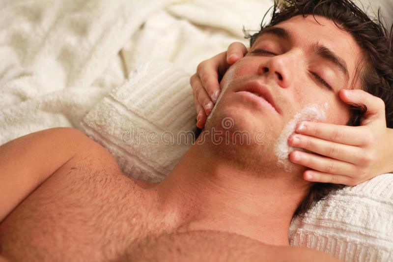 Download Spa relax stock image. Image of relaxation, happy, lying - 22233163