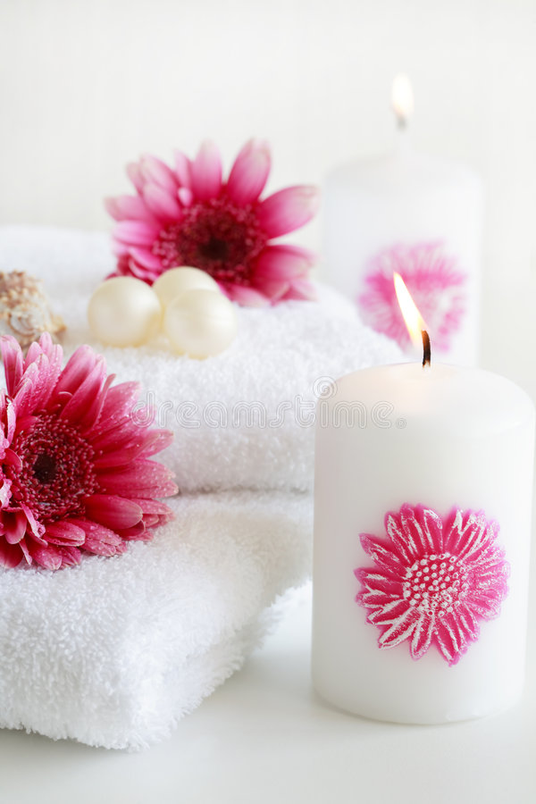Spa relaxation royalty free stock photos