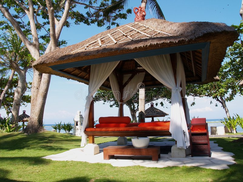 Download Spa Relaxation Gazebo stock photo. Image of refresh, getaway - 3338816