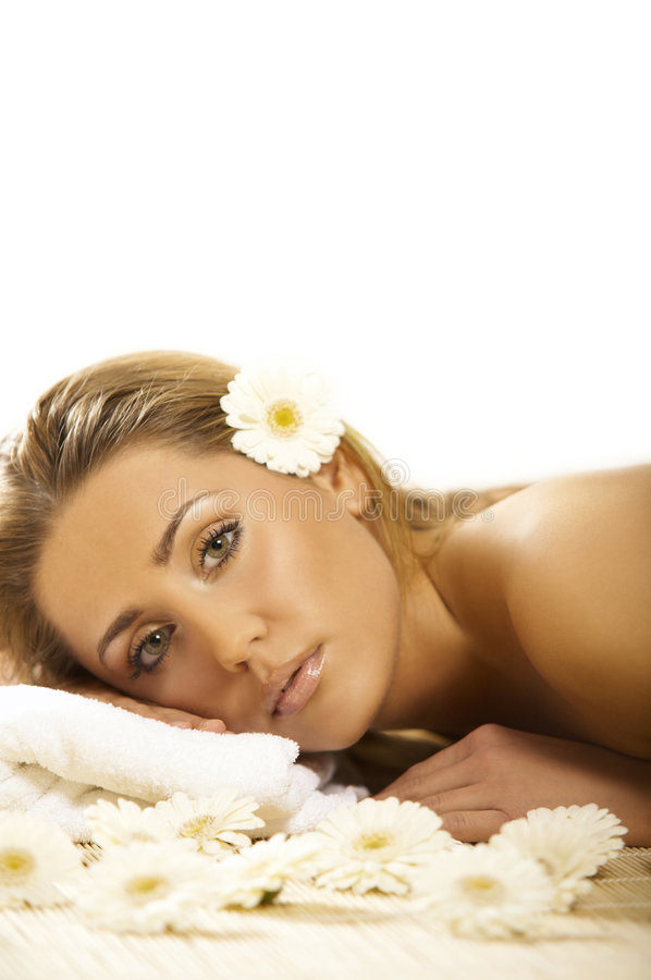 Download Spa Relaxing stock image. Image of skincare, towel, beautiful - 4074011