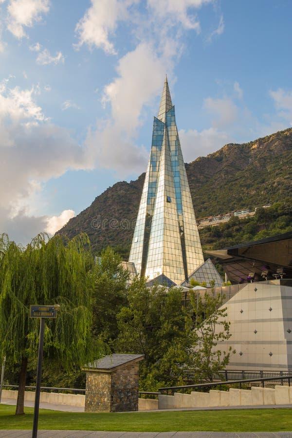 Spa resort Andorra de Caldea fotografia de stock royalty free