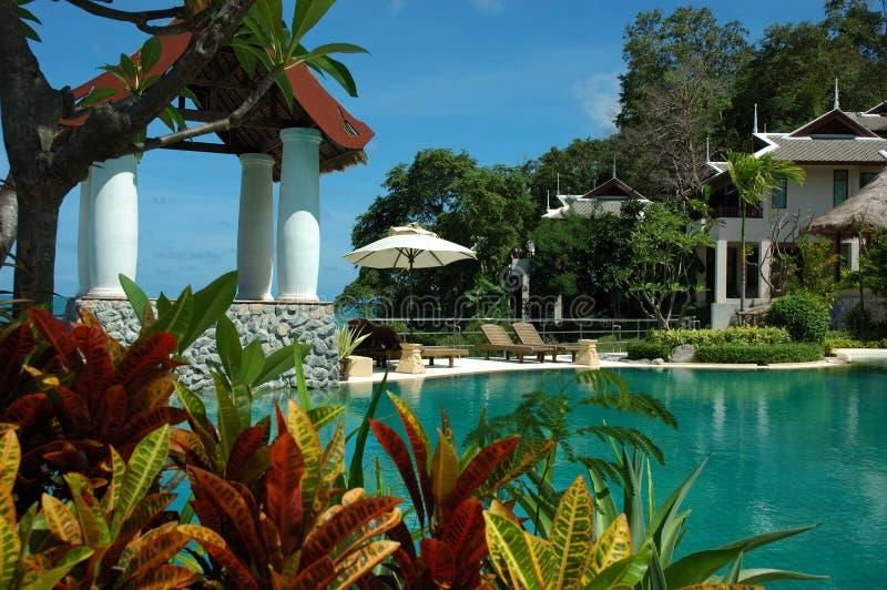 Spa Retreat royalty free stock photo